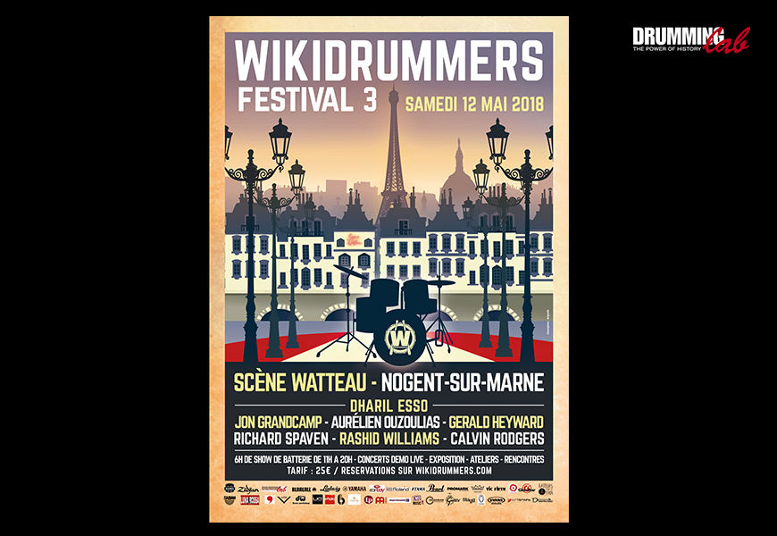 Casting - Wikidrummers Festival 3